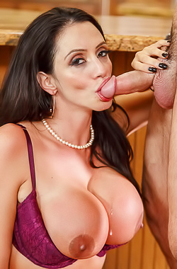Busty Mature Ariella Ferrera Gets Cumshot Anywhere
